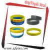 Wristband de incandescência do silicone mais barato da fábrica