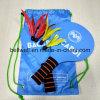 Ракетка пляжа игры крытых и напольных спортов подгонянного печатание логоса установленная деревянная для потехи