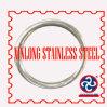 Weldless Ronde of D-vormige ring van het roestvrij staal