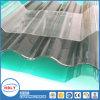Résistant à la chaleur Rigid Sunlight Roofing Granule Cellular Corrugated PC Panel