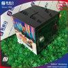 China-Lieferanten-Acrylabgabe-Kasten-Nächstenliebe mit Feststelltaste
