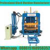 Machine de fabrication de brique automatique de la presse Qt4-18 hydraulique