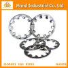 De Interne Getande Wasmachines DIN 6797j van het roestvrij staal