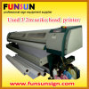 3.2m Used Large Format Solvent Printer (occasion, seiko 510/35L principal, vitesse rapide)