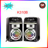 Altofalantes do DJ da luz do disco do leitor do smart card do USB (K-310B)