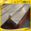 Perfil de alumínio industrial do T-Entalhe com tamanhos e cores personalizados