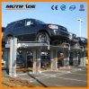 2 Pfosten-Kammerdiener-Auto-waagerecht ausgerichtetes Parken-Doppelsystem