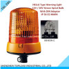 Color ambrato Hella PC 12V/24V Cover Xenon Spiral Strobe Bulb di Type con BACCANO Adapter Warning Lights (TBL 280)