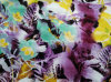 Tela impressa cetim do estiramento do algodão (Art#113224)