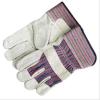 Handschoenen die van het Leer van de Koe van de veiligheid de Werkende Gespleten Handschoenen lassen