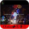 Luces de calle cruzadas del LED de la Navidad de los adornos al aire libre de las decoraciones