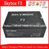 F-3 de 1080P HD DVB-S Box