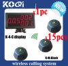 Hotel System pedidos con monitor y de llamada Botones con CE