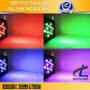 Piso LED PAR Luces 12 * 10W 4in1 RGBW LED Iluminación Escénica