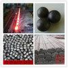 bola de acero de pulido forjada 80m m de media para la mina de cobre