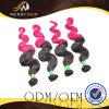 Ombre 색깔 브라질 Virgin 바디 파 머리 길쌈