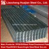 Chapas de aço galvanizadas onduladas para a telhadura