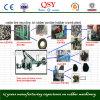 Planta de reciclaje del neumático del desecho/neumático que recicla al polvo de goma o a Guranules