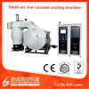Máquina de revestimento cosmética do tampão/vácuo que metaliza máquinas/planta de metalização vácuo do brinquedo