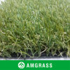 30mm Artificial Grass con Olive Green e Coffee Curly