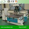 Router automatico di legno di CNC del commutatore dei 3 assi di rotazione
