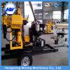 トレーラーによって取付けられる井戸の掘削装置(HW-160)