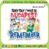 Libérer les aimants personnalisés de réfrigérateur de PVC des cadeaux 3D de promotion de souvenir (RC-OT)