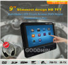 2014 новых 9 DVD-плеер Inch HD Touch Screen Active Car Headrest с Games/USB/SD/IR/FM Transmitter+Bracket, иК Headphone One