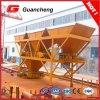 Máquina de procesamiento por lotes por lotes concreta de la arena de los compartimientos Pl800 tres para la venta
