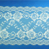15cm Stretch White Lace Trim (505)