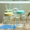 16oz löschen Glasmaurer-Glas für Getränk mit Bildschirm-Drucken