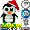 Stuk speelgoed van de Pluche van de Pinguïn van de Gift van de Hoed van Kerstmis GLB van Ce het Zachte Gevulde