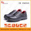 Chaussures de sûreté de marque de type de mode, chaussures de sûreté noires de marteau