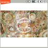 Stampa del Silkscreen della vernice di alta qualità 3-19mm Digitahi/incissione all'acquaforte acida/sicurezza reticolo/glassato temperata/vetro temperato per la parete/divisorio dell'hotel con SGCC/Ce&CCC&ISO