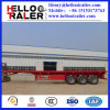 Semi Aanhangwagen van de Container Sale40FT van China de Hete Flatbed