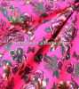 O projeto floral do Swimwear 2014 sexy imprimiu a tela de nylon de Lycra do estiramento de 4 maneiras