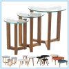 Tavolino da salotto moderno di vetro della base della quercia di nuovo disegno