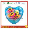 Mini Stamp en Heart Shape PP Box Packing