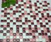 Het roze Mozaïek van het Glas van de Woonkamer (tg-fy-043)