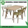Cadeiras contínuas do café do couro da madeira de carvalho