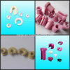 Ceramic Ring Guide for Creel Tube System (Slotted Ceramic Eyelets)