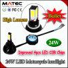 El CREE lateral popular 4 (PCS) LED salta la luz de la motocicleta del LED