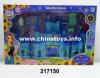 Castelo plástico da beleza da novidade, jogo da menina. Brinquedo da casa de boneca (217150)