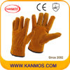 Промышленная безопасность Браун Теплые Сплит водителя Рабочие перчатки (11201)