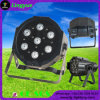 PAR Can 7X12W 4in1 RGBW LED Mini luz de pantalla plana