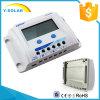 painel solar do indicador de 10A 24V/12V LCD/controlador Vs1024A da potência