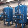 Embarcações de pressão industriais do filtro de areia com forro de borracha interno