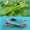 Câble chauffant isolé par silicones de câble chauffant/reptile