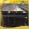 6063 T5 tubo rectangular de aluminio del perfil 100X100m m