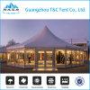 玄関ひさしのフロアーリングが付いている大きい結婚式のテントのためのアルミニウムテントおよび販売のためのCourtains